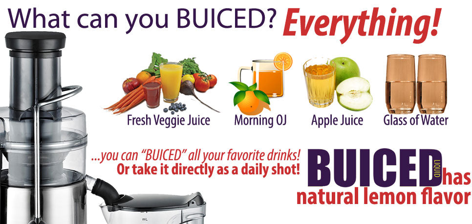 Buiced your juices to get 100% daily value of all vitamins