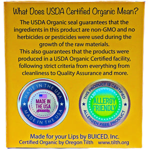 USDA Certified Organic - Citrus 4pack - Buiced Liquid Multivitamin | Gluten Free Vitamins | GMO Free Vitamins | Made in USA Vitamins | Best Multivitamin