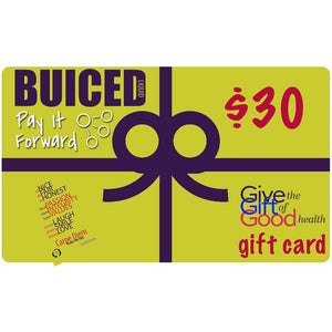 Gift Card - Buiced Liquid Multivitamin | Gluten Free Vitamins | GMO Free Vitamins | Made in USA Vitamins | Best Multivitamin