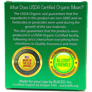 USDA Certified Organic - Spearmint 4pack - Buiced Liquid Multivitamin | Gluten Free Vitamins | GMO Free Vitamins | Made in USA Vitamins | Best Multivitamin