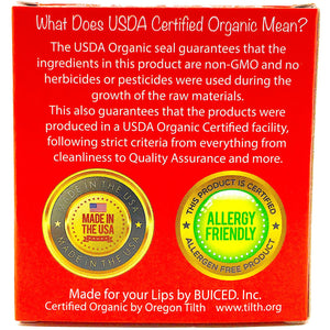 USDA Certified Organic - Strawberry 4pack - Buiced Liquid Multivitamin | Gluten Free Vitamins | GMO Free Vitamins | Made in USA Vitamins | Best Multivitamin