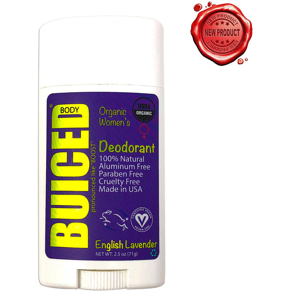 USDA Organic Deodorant | Women's English Lavender - Buiced Liquid Multivitamin | Gluten Free Vitamins | GMO Free Vitamins | Made in USA Vitamins | Best Multivitamin