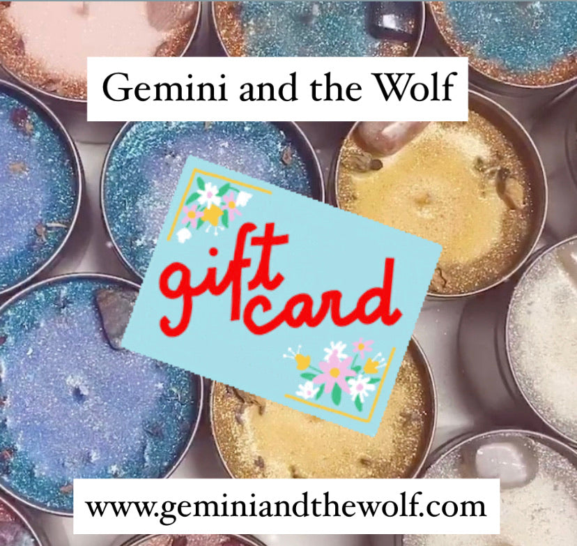 Gemini and the Wolf Gift Card