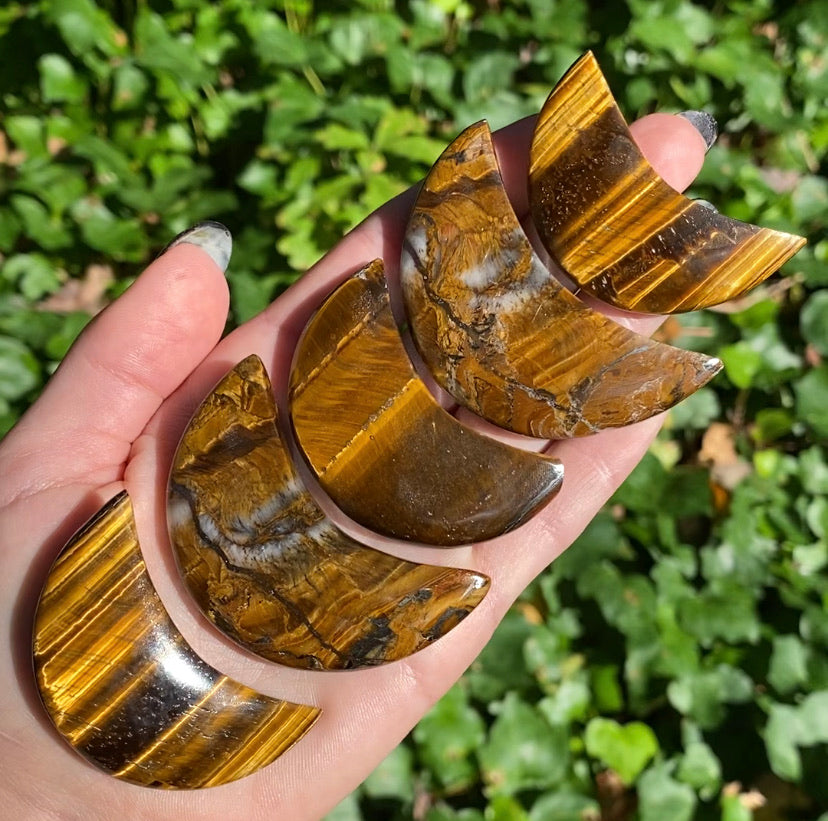 Tigers Eye Moons