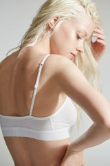 Buckingham Bra 2 / White / Supima Jersey