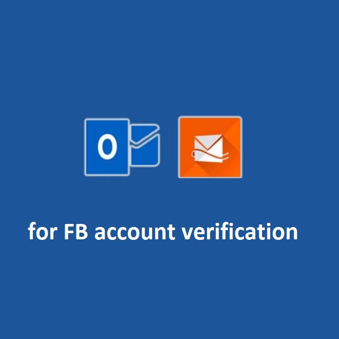 Newly created email for FB account verification