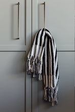 Black Stripe Hand Towel