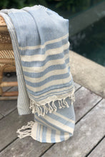 Mykonos Blue Turkish Towel