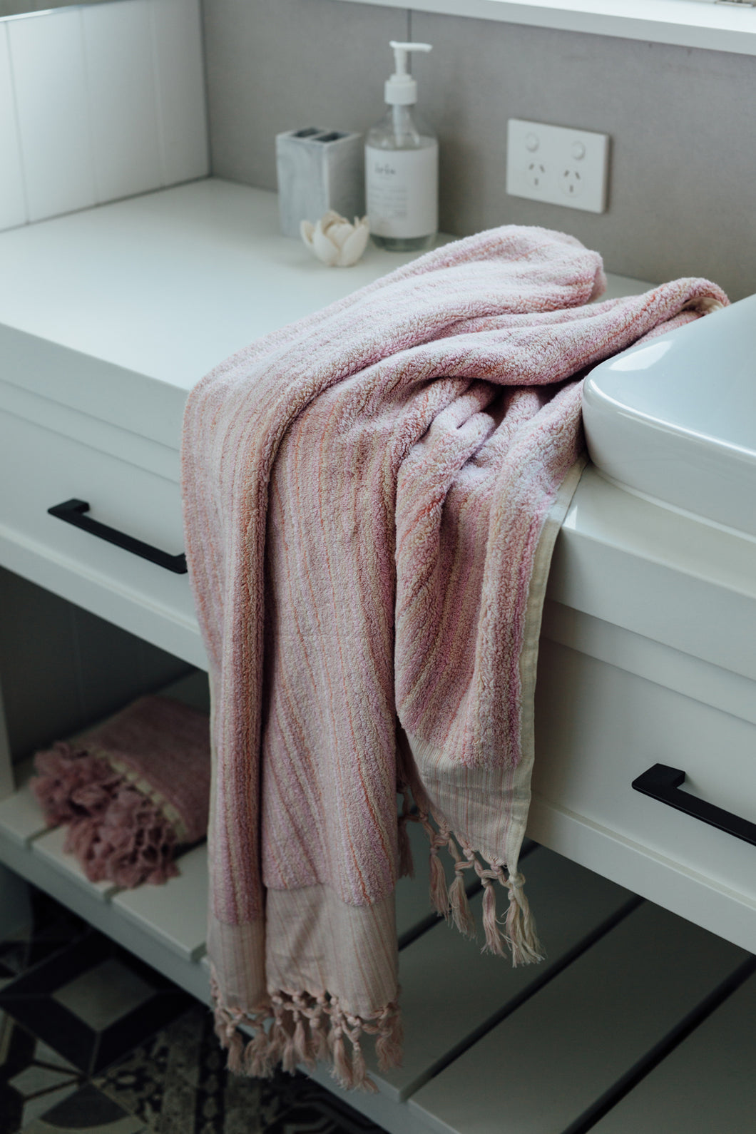 Blush Pink Bath Towel