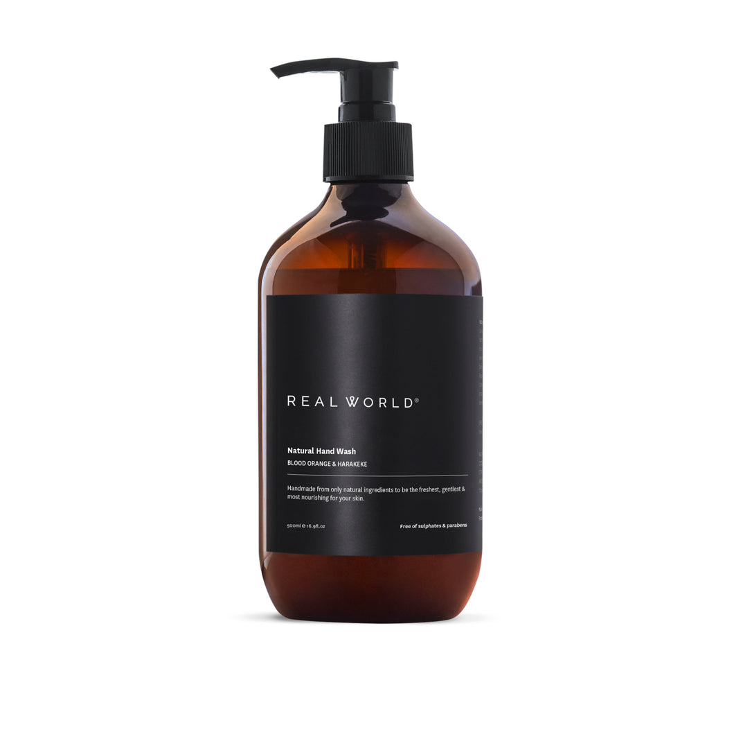 Real World Blood Orange & Harakeke Hand Wash