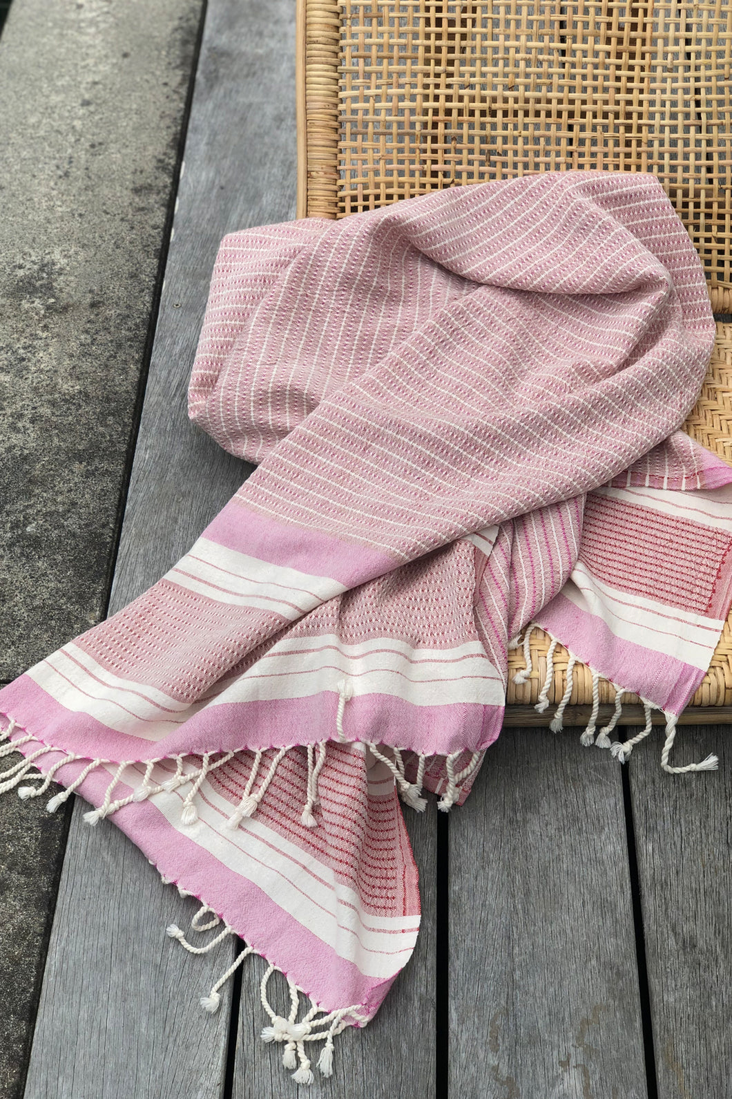 Sienna Berry Turkish Towel