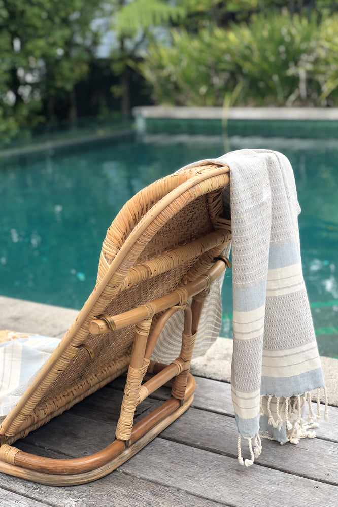 Sienna Grey Turkish Towel