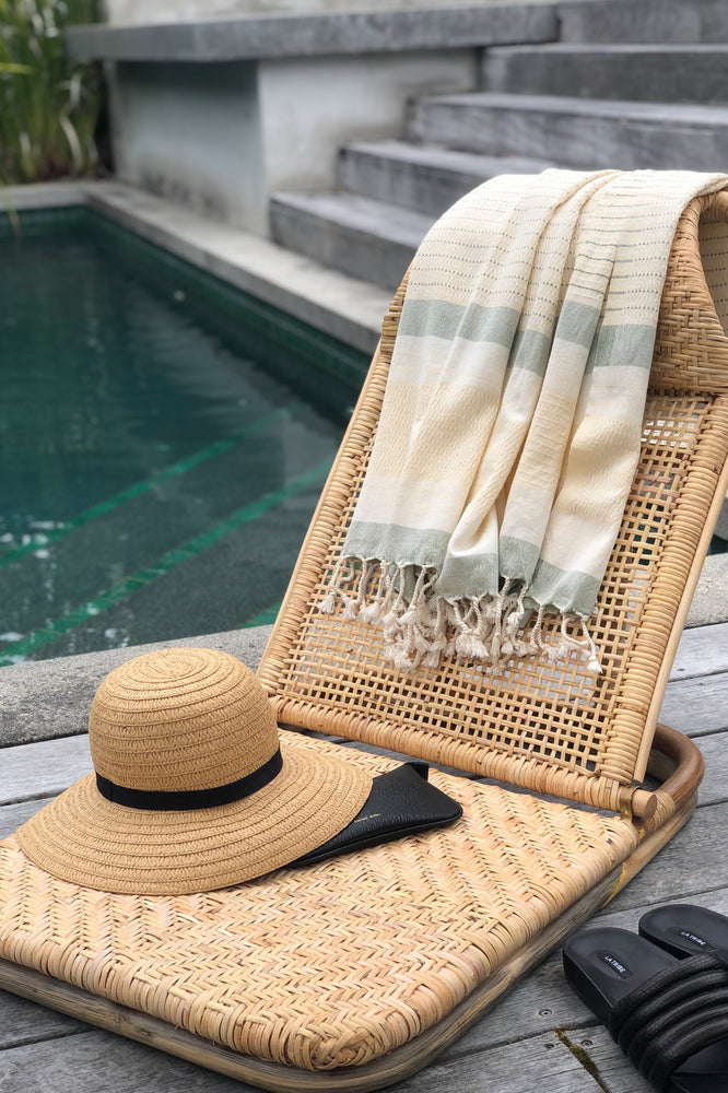 Sienna Lemon Turkish Towel