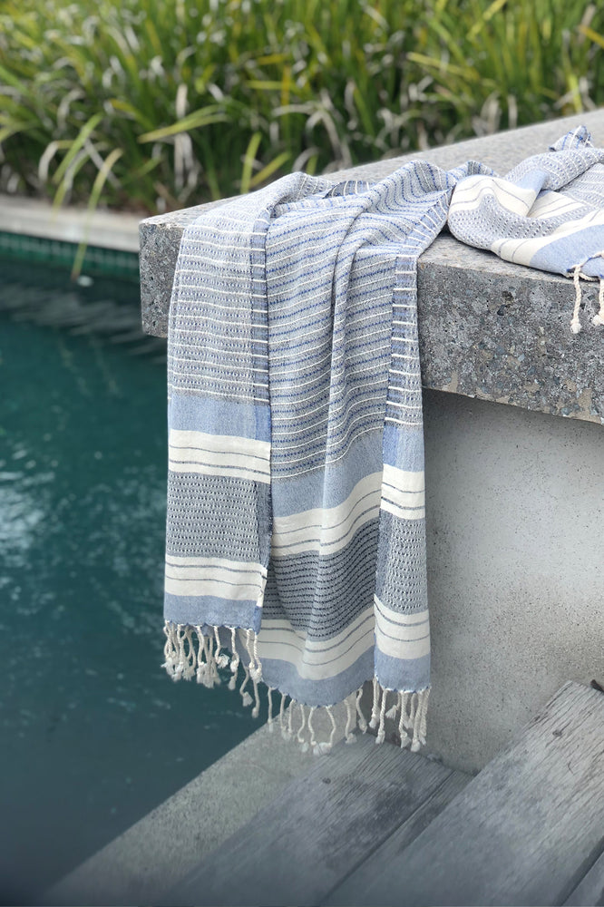 Sienna Navy Turkish Towel