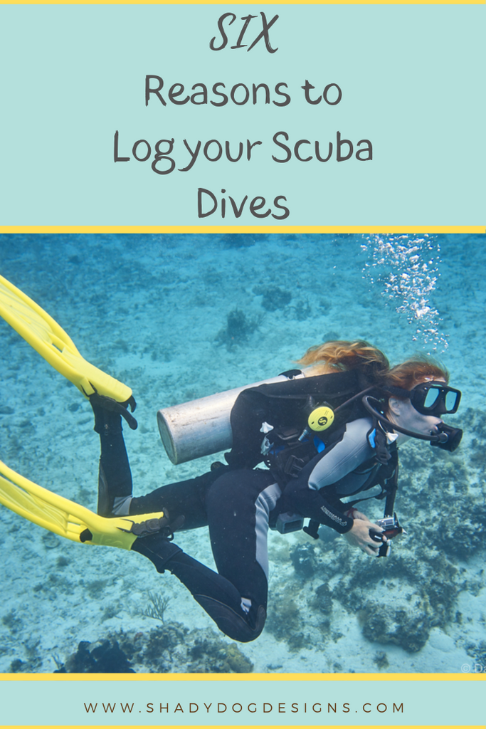 6 Reasons to Log Your Scuba Dives
