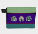 Colorful Sheep Nudibranch Zipper Carry-All/Small Tote
