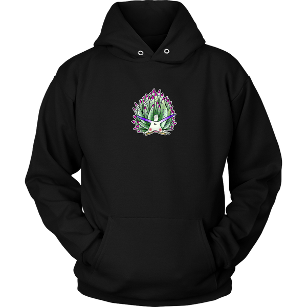 Green Sheep Leaf Nudibranch Cartoon Unisex Hoodie/Sweatshirt