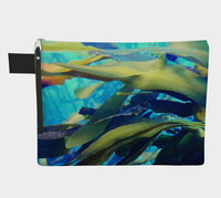 Kelp Zipper Carry-All/Small Purse/Tote