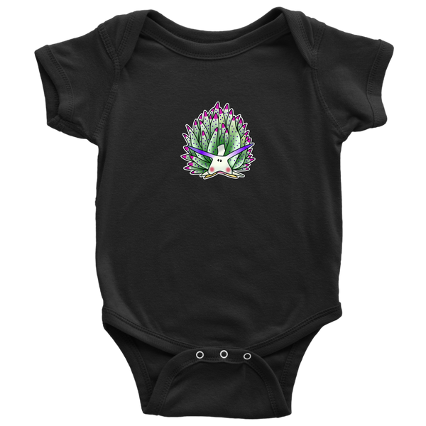 Green Sheep Leaf Nudibranch Cartoon Baby/Infant Bodysuit/Undershirt/Pajamas