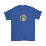 Green Sheep Leaf Nudibranch Cartoon Short Sleeve T-shirt