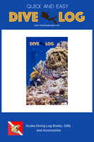 Diver Under the Sea Scuba Dive Log Book - Diving Journal/Logbook
