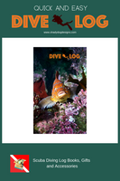 Fish Faces Scuba Dive Log Book - Diving Journal/Logbook