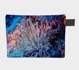 Giant Anemone Zipper Carry-All/Small Purse/Clutch