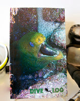 Moray Eel Scuba Dive Log Book - Diving Journal/Logbook