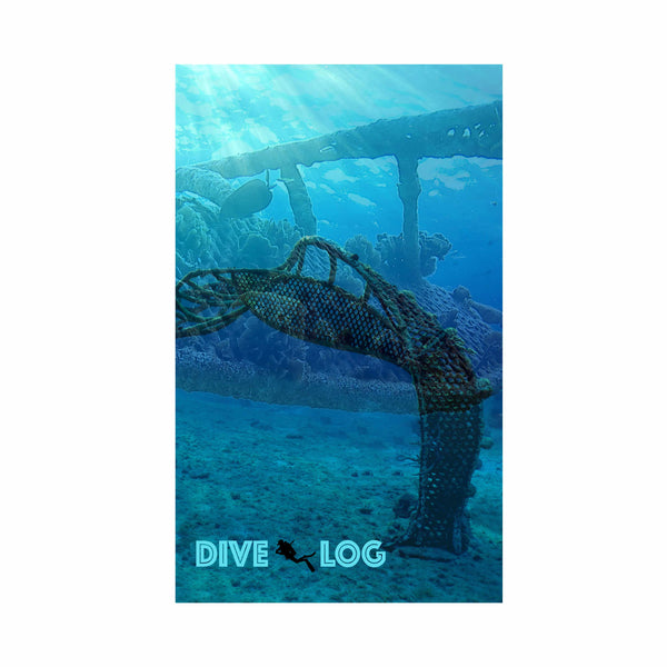 Zoe A Living Sea Sculpture Coral Reef Scuba Dive Log Book - Diving Journal/Logbook