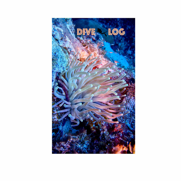 Giant Anemone Scuba Dive Log Book - Diving Journal/Logbook