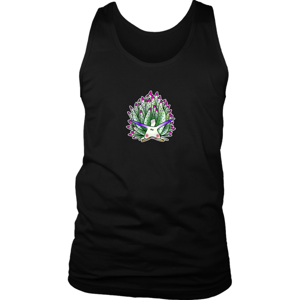 Green Sheep Leaf Nudibranch Cartoon Unisex Tank Top/Sleeveless T-shirt