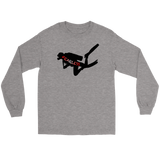 Fearless Scuba Diver Long Sleeve T-Shirt/Tee