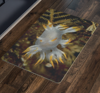 White Dendronotus Nudibranch Doormat/Floor Mat