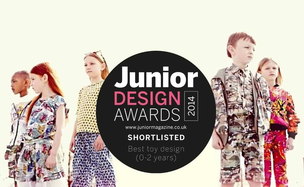 Shortlisted for the Junior Design Awards 2014