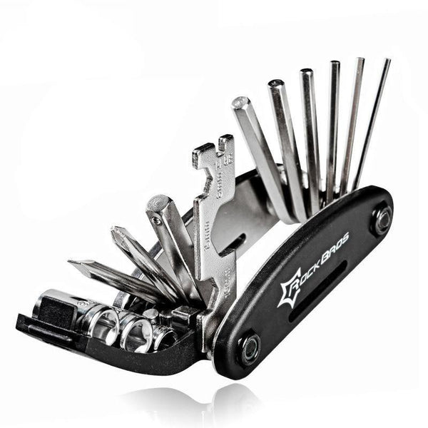 16 in 1 Multifunction Bicycle Repair Tool - The Brotherhood shop
