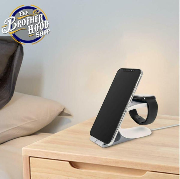 2 in 1 Smartphone/Smartwatch Charging Station - The Brotherhood shop
