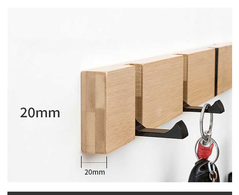 Coat Hanger - Wall Hanging Hooks - Retractile Wall Hook - Coat Rack - The Brotherhood shop