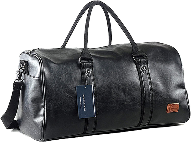 Duffle Travel Bag - Large Capacity Duffle Bag - GYM Leather Bag - The Brotherhood shop