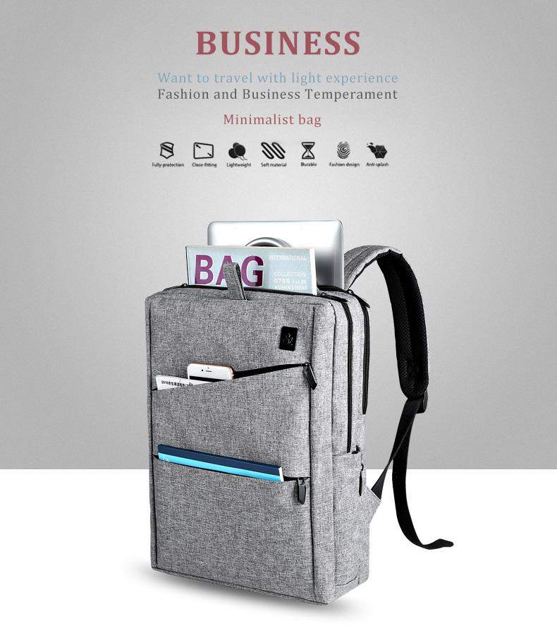 Fashion Waterproof Business Backpack - The Brotherhood shop