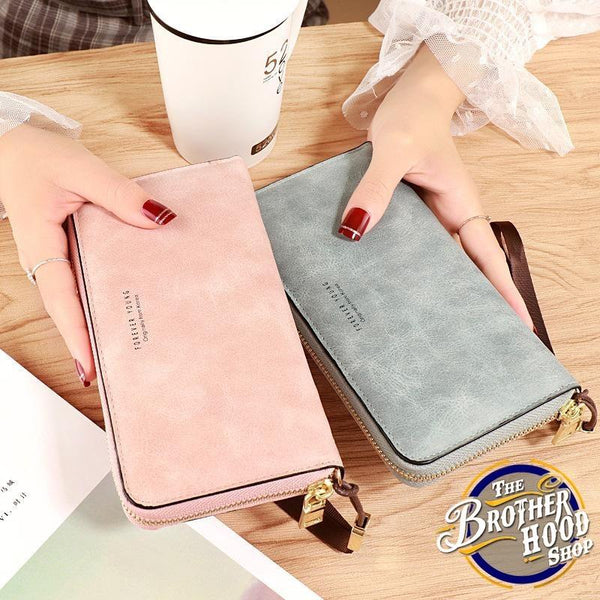 Leather Wallet for Women - The Brotherhood shop