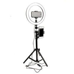 LED Ring Light Kit - Video Production LED light - Light Stand Tripod - iPhone & Samsung LED Light Tripod - The Brotherhood shop