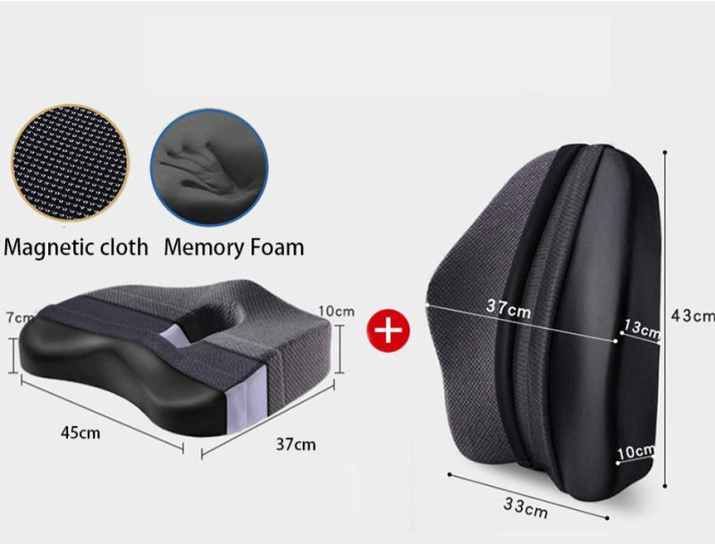 Memory Foam Lumbar Seat Cushion - The Brotherhood shop