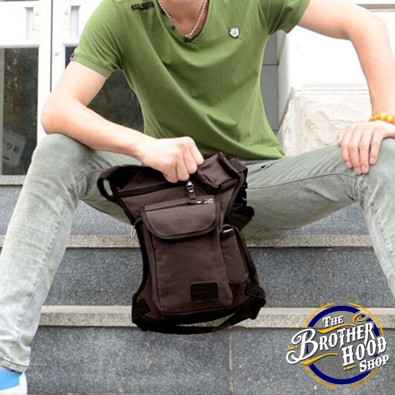Men's Canvas Duffle Bag - The Brotherhood shop