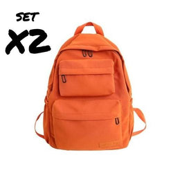 MULTIPOCKET WATERPROOF BACKPACK X2 - The Brotherhood shop