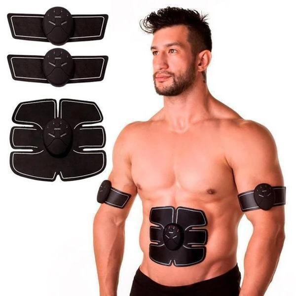 Muscle Stimulation Set - Electric Muscle Stimulator - Trainer Workout Abs Stimulation Kit - The Brotherhood shop
