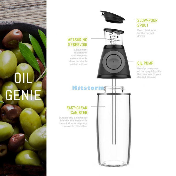 Olive Oil Vinegar Dispenser Bottle Set - The Brotherhood shop