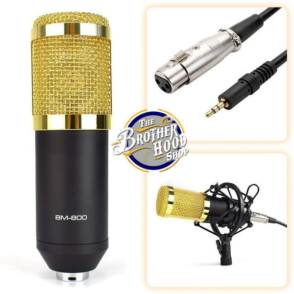 Podcast studio microphone, studio microphone
