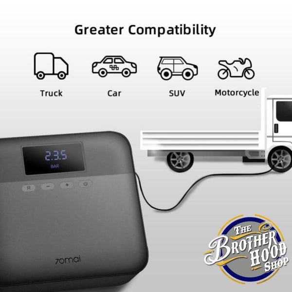 Smart Portable Air Compressor - The Brotherhood shop