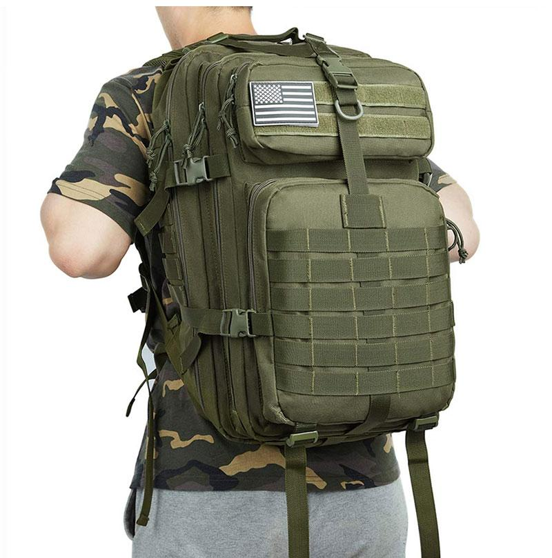 Tactical Large Backpack -  Waterproof Travel Backpack - Military Camping Backpack - The Brotherhood shop