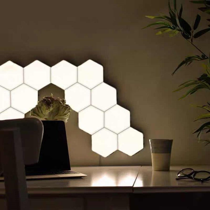 Touch Lamp - Wall Lamp - Quantum Sensor Night Lamp - Modular Hexagonal LED Lamp - The Brotherhood shop